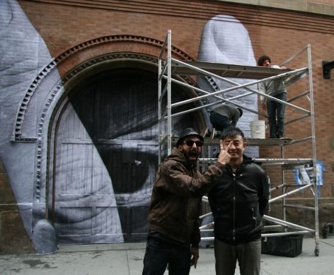 Streets: JR x Liu Bolin (Part I)