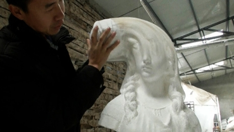 Creator's Project I Li Hongbo's New, Stretching Paper Sculptures Look Even Better On Video