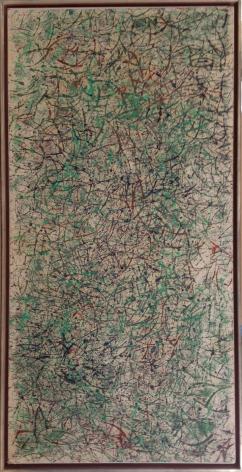 Shen_Fan_92-013_Oil_on_xuan_paper_mounted_on_xuan_paper_140x70cm_1992