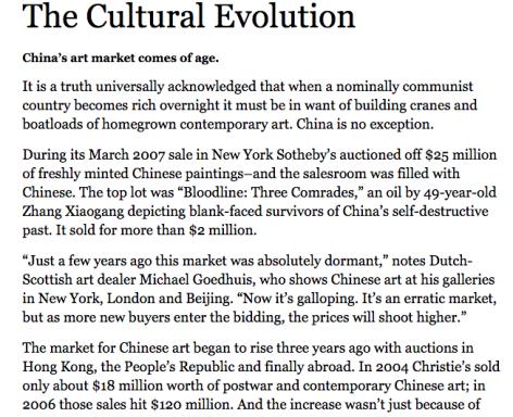 Forbes I The Cultural Evolution