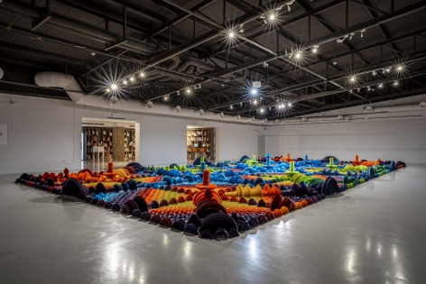 Li_Hongbo_Bloom_Paper_Dimension_variable_Installation_view_2015
