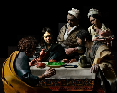 The hong kong jockey club | Italian masterpiece Supper at Emmaus presented in Jockey Club-supported exhibition