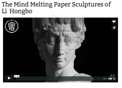 Twisted Sifter I The Mind Melting Paper Sculptures of Li Hongbo