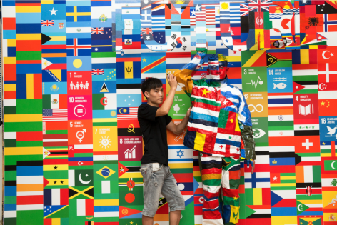 Art Radar I 'Invisible Man' Liu Bolin in the spotlight for UN Global Goals campaign