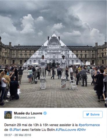 Europe Daily | JR, le photographe qui fait une entrée fracassante au Louvre, de son vivant