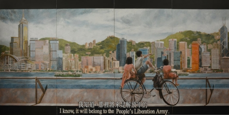 NY Times | As Hong Kong Ponders Its Future Under Beijing, Politics Infuses Its Art