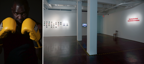 Artsy | Li Liao's Latest Solo Show Throws Gallery-Goers into a Boxing Ring