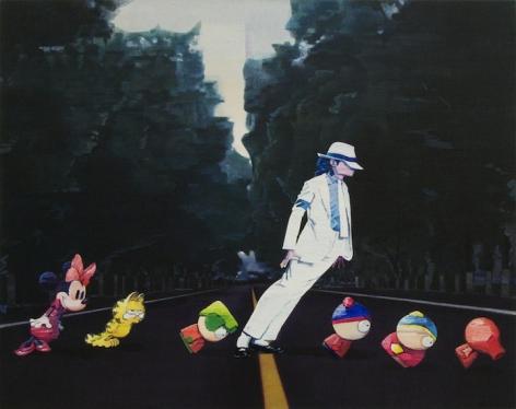 My Modern Met | Cartoon Characters Invade Chinese Art