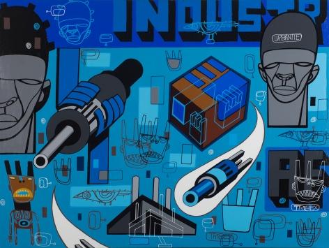 Industr by Ron Haywood Jones