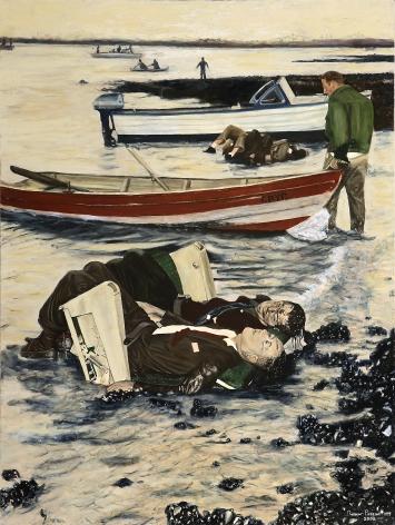 Electra Crash - Boston Harbor 1960 by Robert Preston