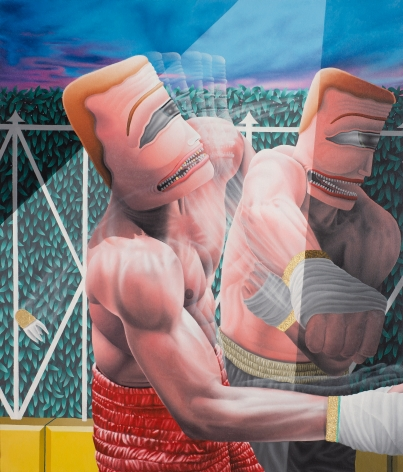 Knockout  by Samual Weinberg