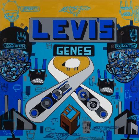 Levi's Genes by Ron Haywood Jones
