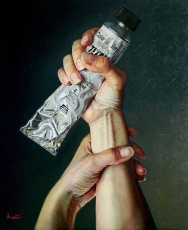 """Artista Y Pintura"" by Mar Marin Leal"