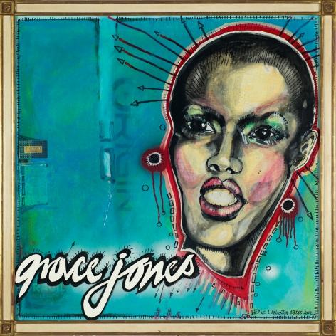 Grace Jones by Eric Lavazzon