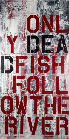 Only Dead Fish Follow The River
