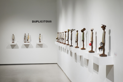 Solo Exhibition, Duplicitous, by Julia Rivera at Detour Gallery