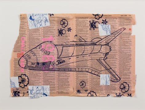 1986 Challanger by FAILE