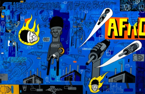 The Amazing Afroboy by Ron Haywood Jones