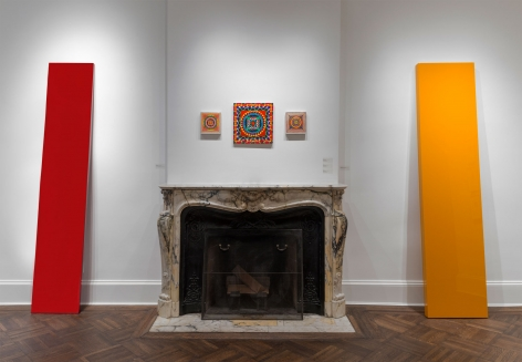 Installation view of John McCracken: Sculpture, Paintings and Works on Paper