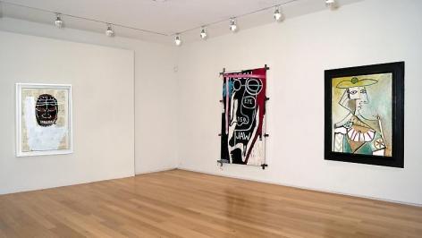 PICASSO / BASQUIAT, Van de Weghe Fine Art
