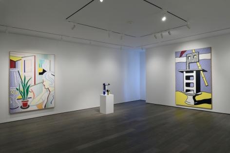 ROY LICHTENSTEIN: Paintings, Drawings and Sculptures, Van de Weghe Fine Art, September 24 - November 20, 2015, Installation view.,