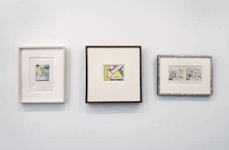 ROY LICHTENSTEIN: Paintings, Drawings and Sculptures, Van de Weghe Fine Art, September 24 - November 20, 2015, Installation view.