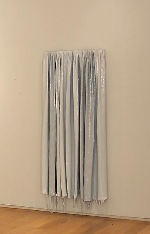 ROBERT MELEE Untitled (Gray Curtain), 2011
