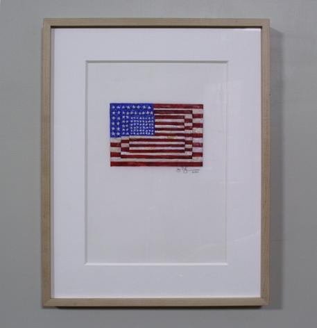 Jasper Johns Three Flags, 2000