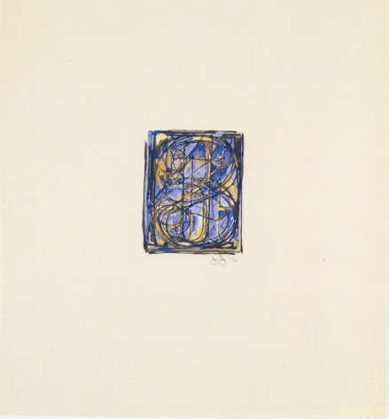 Jasper Johns 0 through 9, 1976.