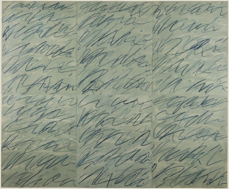 Cy Twombly Roman Notes, 1970