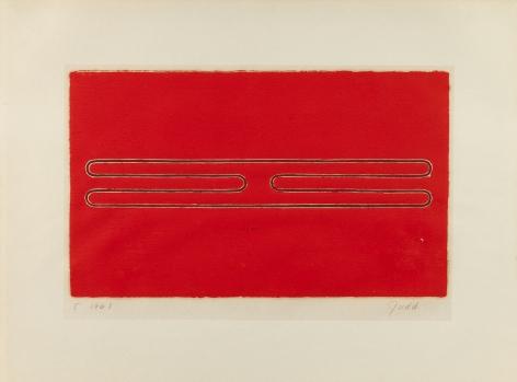 Donald Judd,Untitled, 1961.