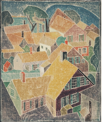 Blanch Lazzell Provincetown, 1925