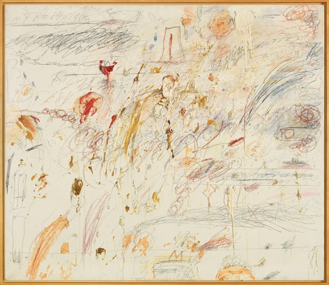 Cy Twombly Untitled, [Rome] 1961