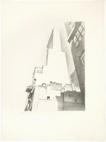 Charles Sheeler,Delmonico Building, 1926.