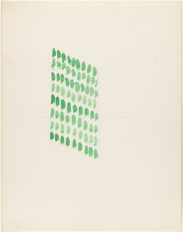 Richard Tuttle, Pressure and Pace, 1972.