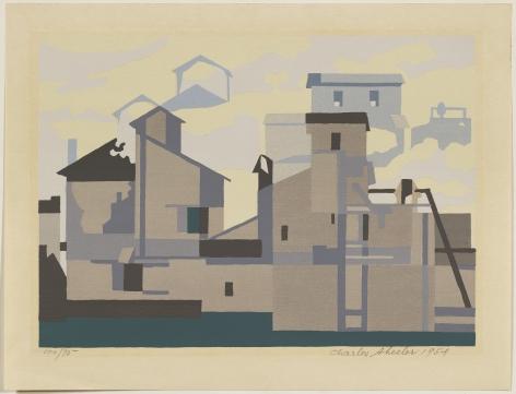 Charles Sheeler,Architectural Cadence, 1954.