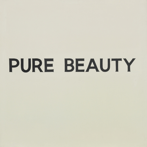 John Baldessari Pure Beauty, 1966-68