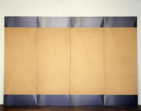 Dorothea Rockburne,Tropical Tan, 1966-68.
