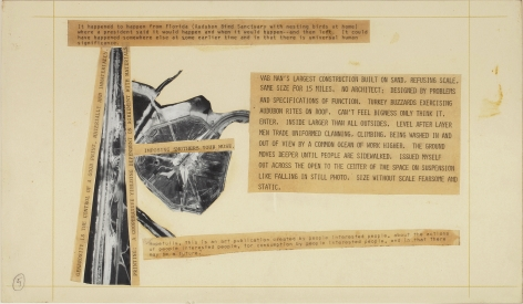 Robert Rauschenberg  Stoned Moon Book, Page 5, 1970