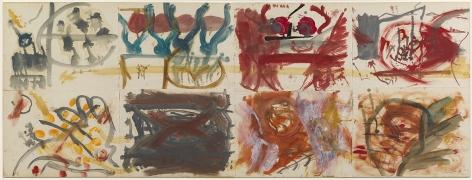 Helen Frankenthaler, Number 6, 1957.