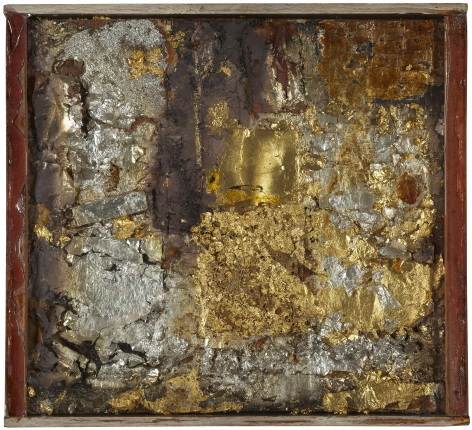 Robert Rauschenberg, Untitled (Gold Painting), c. 1953.