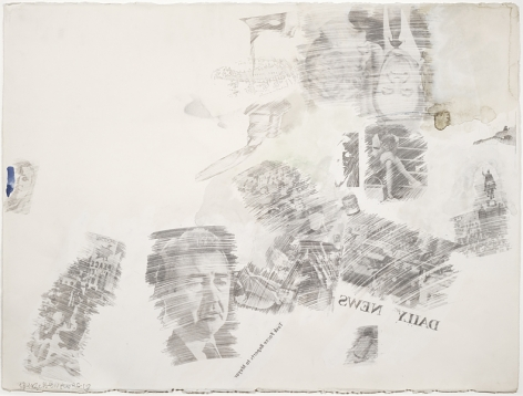 Robert Rauschenberg Political Folly, 1968