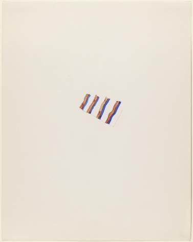 Richard Tuttle,White Wind, 1972.