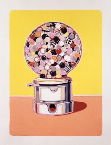 Wayne Thiebaud Gumball Machine, 1971-1986