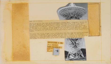 Robert Rauschenberg Stoned Moon Book, Page 4, 1970