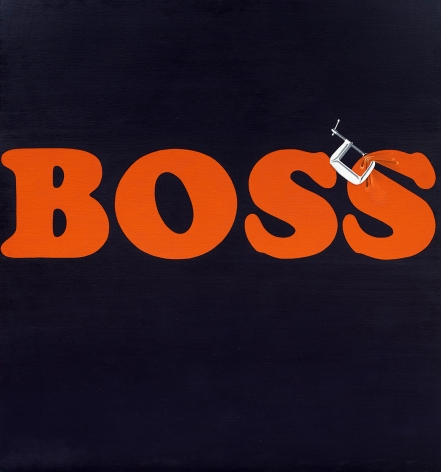 Ed Ruscha Securing The Last Letter (Boss), 1964