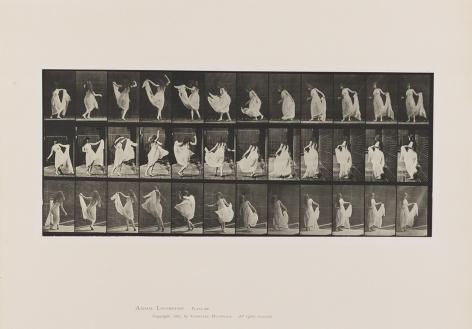Eadweard Muybridge Dancing (fancy), plate 193 from the series Animal Locomotion, 1887
