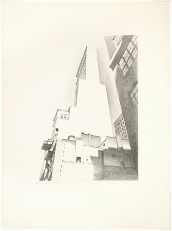Charles Sheeler Delmonico Building, 1926