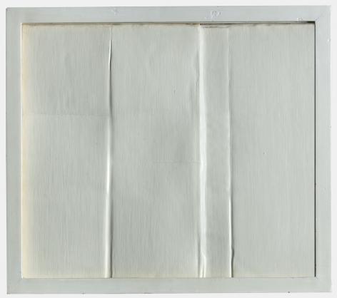 Eleanore Mikus Cardbord Relief Fold, 1961