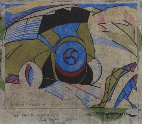 Claude Flight,Paris Omnibus, 1923.